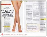Léanos en Revista Buena Salud de Junio